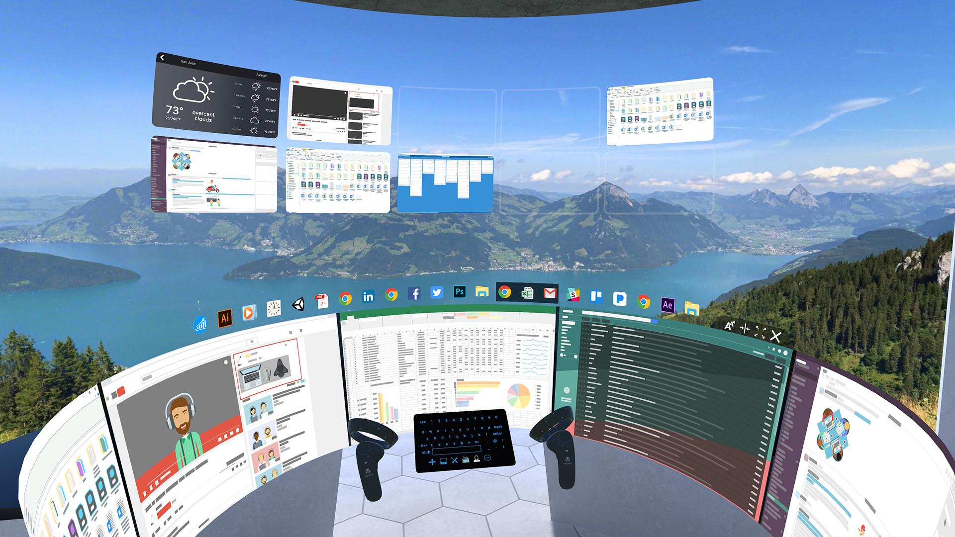VR als Büro